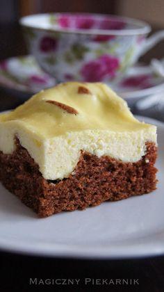 Magiczny Piekarnik: Cielaczek Polish Desserts, Polish Recipes, Baking Recipes, Cookie Recipes, Dessert Recipes, Cheesecake Pops, Sandwich Cake, Tasty, Yummy Food