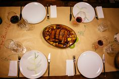 Barriga de porco - Pork Belly Table Settings, Pork Belly, Red Wine, Potato, Everything, Recipes, Nice, Portuguese, Place Settings