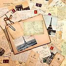 Vintage letters and postcards 3 by creativelolo