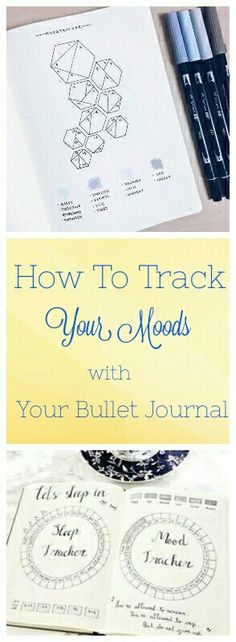 Fresh bullet journal ideas to show you how to do a mood tracker and check in with yourself. How to take note of your emotional well being. As detailed or as creative as you want them to be - yearly, monthly or weekly layouts!