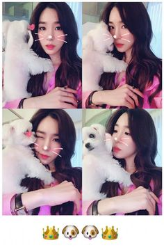 SNSD Tiffany and her adorable pictures with her dogs ~ Wonderful Generation ~ All About SNSD, Wonder Girls, and f(x)
