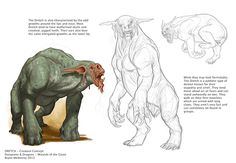 Dretch - Designing for Dungeons & Dragons 5e — BRYNN METHENEY from www.brynnart.com