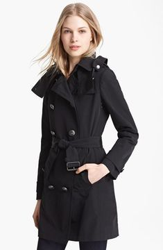 Burberry Brit 'Balmoral' Trench Coat on shopstyle.com