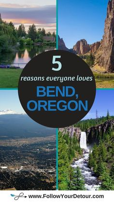 There's a reason EVERYONE is moving to Bend, Oregon. The weather, even in the wi… Oregon Vacation, Oregon Road Trip, Bend, Oregon Travel, Vacation Spots, Travel Usa, Travel Tips, Central Oregon, Oregon Coast