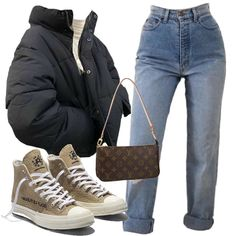 types of clothing styles fashion outfit Cute Casual Outfits, Retro Outfits, Vintage Outfits, Teen Fashion Outfits, Look Fashion, Winter Fashion, Fashion Tips, Mode Streetwear, Streetwear Fashion