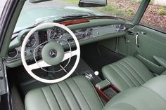 Looking for the Mercedes-Benz of your dreams? There are currently 1190 Mercedes-Benz cars as well as thousands of other iconic classic and collectors cars for sale on Classic Driver. Old Mercedes, Classic Mercedes, Mercedes Benz Cars, Classic Motors, Classic Cars, Mercedes Benz Classes, Mercedes Interior, Mercedez Benz, Futuristic Cars