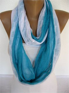 ON SALE  Infinity Scarf Shawl Circle Scarf Loop by SmyrnaShop, $9.90