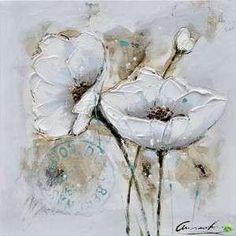 Tableau peinture à l'huile Fleurs des champs Couleur Multicolore Matière Toile Tableau peinture à l'huile ATYLIA