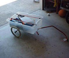 Bike Cargo Trailer, Pet Trailer, Cargo Bike, Bike Trailers, Utility Trailer, Bike Wagon, Bike Cart, Build A Bike, Bicycles