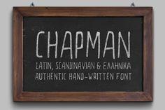 Chapman Handwritten Font by elegrad on Creative Market