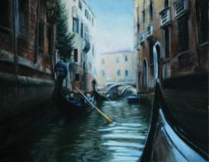 Just completed this painting of Venice. Oil on canvas. By Sarah McBride.