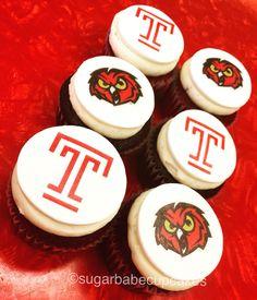 Temple University cupcakes