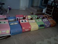 Cardboard Disney Cars