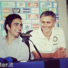 Me and Mr. Mourinho