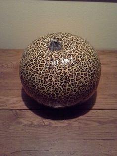 Duck tape pumpkin