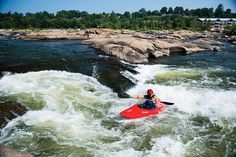The Best River Town in America - Outside Magazine Outside Magazine, Potomac River, Waterfront Property, Richmond Virginia, Rafting, Adventure Travel, Waves, Boat, Explore