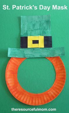 St. Patrick's Day Mask