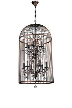 Vinatge Bird Cage Chandelier by Modern Vintage Style Furniture on @HauteLook