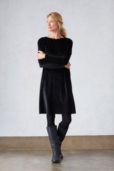 Pure Jill velour dress