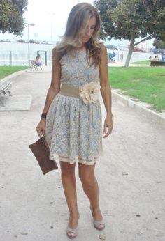 Romántico y elegante. #dress #love #vestido