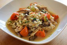 Dilled Chicken Soup Stew