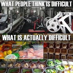 What people think is difficult