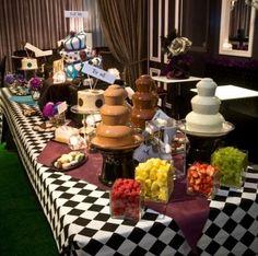 MAD HATTER/ALICE IN WONDERLAND THEME - Dessert Bar