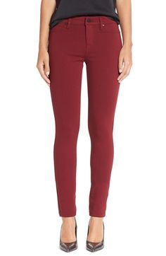 Liverpool Jeans Company 'Madonna' Colored Stretch Ponte Skinny Pants (Petite) available at #Nordstrom