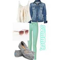 SUMMER!!!!!!, created by kennamichelle on Polyvore polyvore