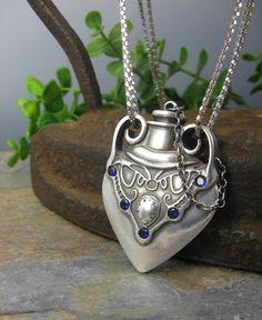 Love Potion #9 by Lisa Barth,  Metal Clay