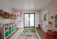 Ideas for organised but playful boys' room
