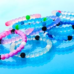 Add some color to your style with this bright and beautiful Fortune Bracelets