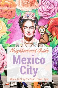 Mexico City Neighborhood Guide: Where to Stay For Your Travel Style - Hippie In Heels This is a detailed Mexico City neighborhood guide to help you decide which area of this amazing city will best fit your travel needs. Df Mexico, Visit Mexico, Mexico Vacation, Mexico Travel, Mexico Trips, Italy Vacation, Puerto Vallarta, Mexico Destinations, Travel Destinations