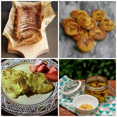 Paleo AIP Recipe Roundtable #110   Phoenix Helix *Featured Recipes: Pear and Parsnip Teacake, Baked Plantains, Broccoli Stalk Breakfast Latkes and Rosemary Garlic Confit.