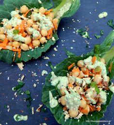 Delicious chickpea salad or spread