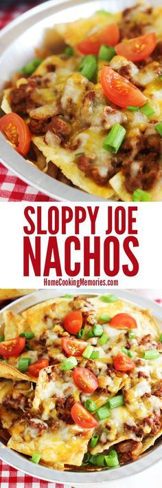 Skip the bun! This sloppy joe nachos recipe is like the sandwiches, but MORE cheesy & MORE fun! Easy dinner idea for everything from game day to movie night.