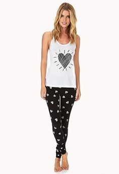 Spread Love PJ Set | FOREVER21 - 2000072169