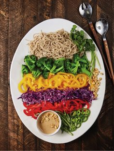 Runners Love This Soba Noodle Salad And Peanut Sauce