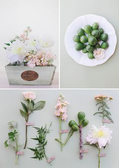 Annabella Charles Photography and Haute Horticulture throwback <3 http://belleandchic.com/romantic-wedding-flowers-with-figs/