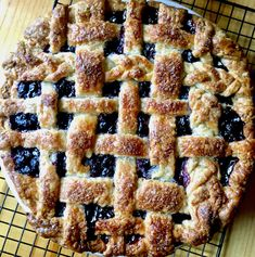 Blueberry Pie with Buttermilk Crust Pie Crust Uses, Homemade Pie Crusts, Pie Crust Recipes, Tart Recipes, Oat Crumble Topping, Good Pie, Cheese Cakes, Bread And Pastries, Frozen Blueberries