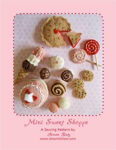 Mini Sweet Shoppe PDF pattern. $6.00, via Etsy.