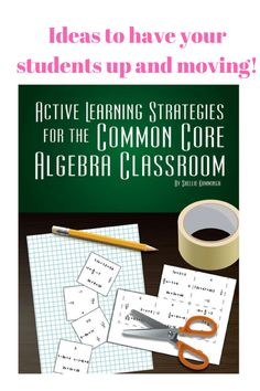 How to incorporate active learning in your classroom | Step by step teacher and student directions | ready to incorporate the next day! https://www.enasco.com/product/TB26093T