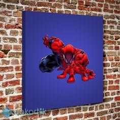 Örümcek Adam Tablo I #çocuk_odası_tabloları #genç_odası_tabloları