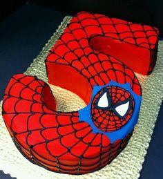 5yas örümcek adam pastasi