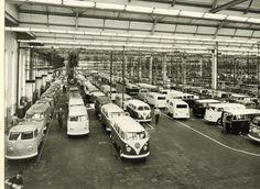 1960's V.W factory