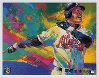 Braves Chipper Jones Painting