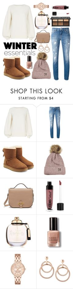 """""""Winter Essentials"""" by indigoizzy247 ❤ liked on Polyvore featuring Helmut Lang, Dolce&Gabbana, UGG, Mulberry, Wet n Wild, Coach and Bobbi Brown Cosmetics"""