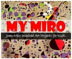 Teach your child about Joan Miro's amazing Surrealist art with these fun art projects from Kidcreate Studio, MN