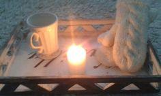 Lapaset,muki ja kynttilä