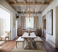 mesas de comedor - mesa madera Love love love this!!! ~ <3 ~